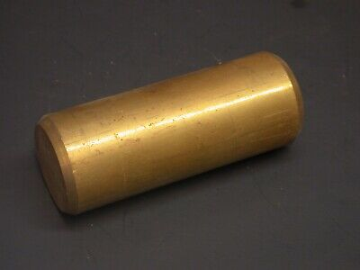 "2"" x 5-1/6"" SOLID BRASS ROUND BAR STOCK"