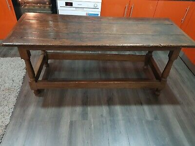 17th century refectory table 3 plank top