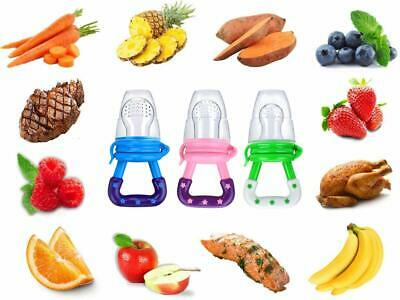 3Pack Baby Fruit Feeder Pacifier-Fresh Food.  Free Same Day Shipping.