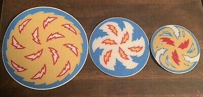 New Whirlwind pinball spinning decals disc rough textured laminate never used