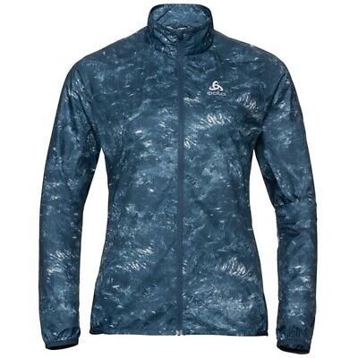 ODLO Zeroweight Jacket W Blue Wing Teal 312551 70693/ Ropa Montaña Mujer