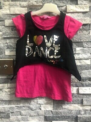 Girls Pineapple Top Age 5-6 Years