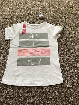 Young Dimensions Girls Brand New Age 8-9 Years Fantastic Design Top Gorg Design