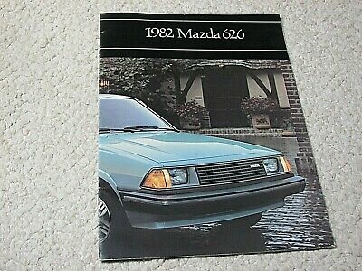 1982 Mazda 626 (Usa) Sales Brochure