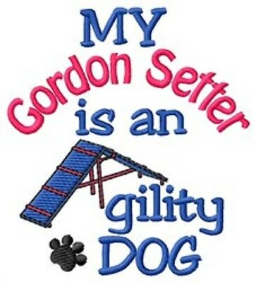 My Gordon Setter is An Agility Dog Fleece Jacket - DC1904L Size S - XXL