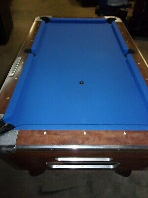 Valley 7 ft. coin op pool table  #PT253