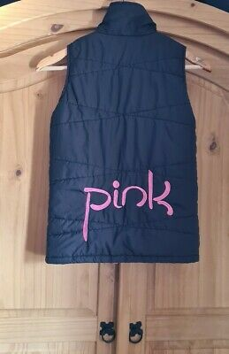 "Girls gymnastics ""Pink Leisurewear"" bodywarmer gilet age 9-10 years excellent"