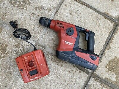 Hilti Te 30 A36 Cordless Hammer Drill With 6.0ah Battery And Charger