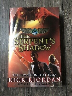 The Serpent's Shadow (The Kane Chronicles Book 3) by Rick Riordan (Paperback,...