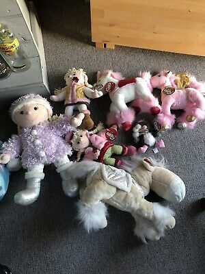 Buddle Of Soft Toys - Girls - Pink - Horse Teddy - Chilly And Friends (tesco)