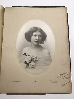 Vintage Early 1900's Photoghraph Of A Young Lady