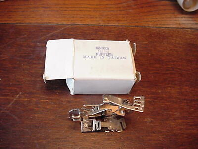 Sewing Machine Attachment, Ruffler, Long Shank, for Singer, NIB