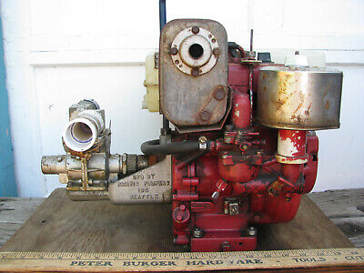 PACIFIC PORTABLE PUMPER BE FIRE WATER PUMP ECO 3hp Marine/Firefighting WAJAX VTG