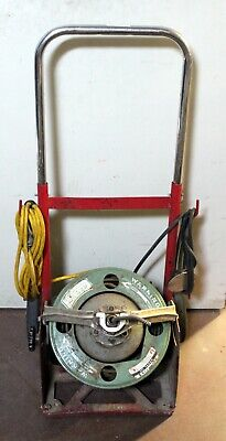 Spartan Model 100 Professional Mobile Drain Cleaning Sewer Snake Machine