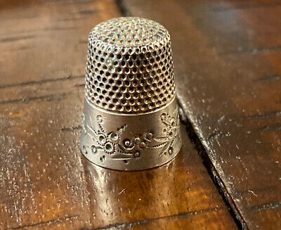 Antique Ketcham And McDougall Thimble Sterling