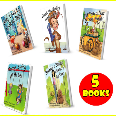 💓Brenda's Beaver + 4 books - Extremely Funny Children/Adult(PDF)Book's 5 total.