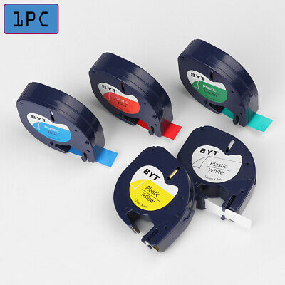 Convenience  Plastic Label Machine Tag Stickers Printer  Ribbon Paper Gel