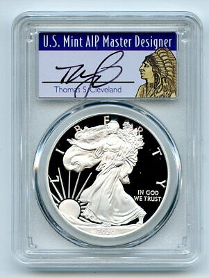 2020 W $1 Proof Silver Eagle PCGS PR70DCAM First Strike Cleveland Native