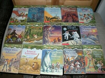 Large Magic Tree House Book Collection ~ Look At All Pictures