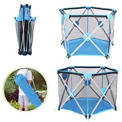 Portable Playpen Tent Collapsible Exercise Fence Home Children's Playground