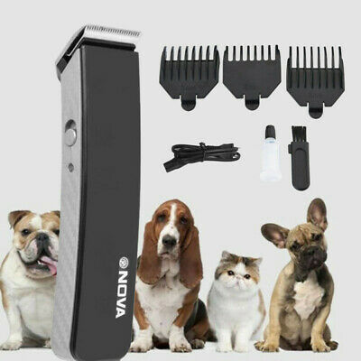 Professional Electric Pet Dog Cat Hair Trimmer Shaver Clipper Fur Grooming Razor
