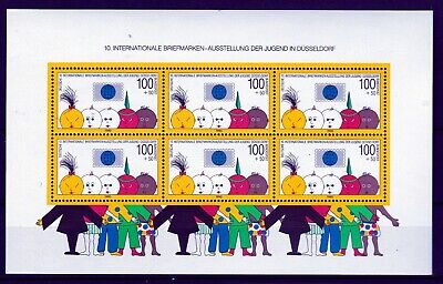 GERMANY 1990 YOUTH ORCHESTRA S/S  (ref 4) MNH