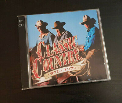 Cd Double Album - Timelife - Classic Country - 1975-1979