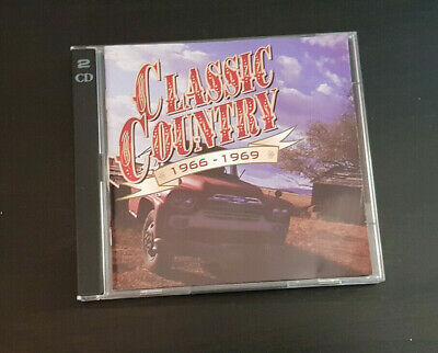 Cd Double Album - Timelife - Classic Country - 1966-1969