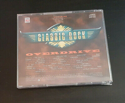Cd Double Album - Timelife - Classic Rock - Overdrive