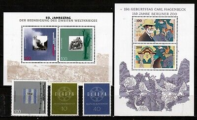 GERMANY COMMEMORATIVES INC S/S (ref 10) MNH