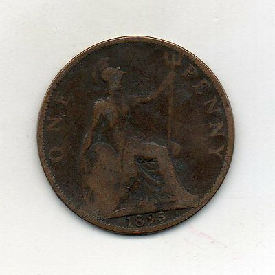 GREAT BRITAIN One Penny 1895