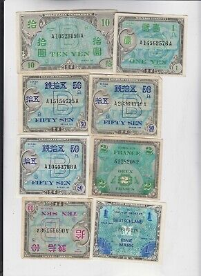 World Currency collection  25 notes low grade and up