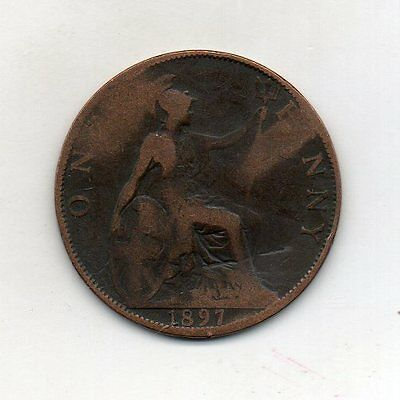 GREAT BRITAIN One Penny 1897