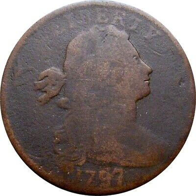 1797 Draped Bust Cent--Very Good--(S-130, Rarity2)