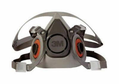 3M 6000 LG Half Facepiece Respirator, In Packaging, (17 available) W/O Filter
