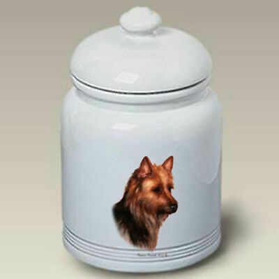 Australian Terrier Ceramic Treat Jar TB 34203