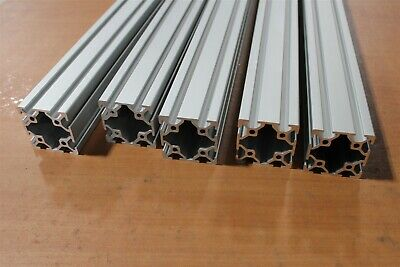 80/20 25 Series, T-Slot Aluminum Extrusion 25-5050 SC Lot 61 (5pcs)