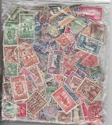 British Empire Collection. Victoria To George Vi Packet Of 812 Stamps..