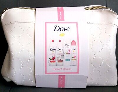 Brand New Dove Radiant Beauty Collection Washbag With Pistachio Body Lotion Wow!