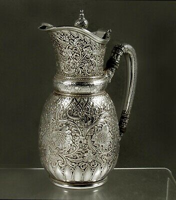 Tiffany Sterling Silver Pitcher                       c1875 PERSIAN