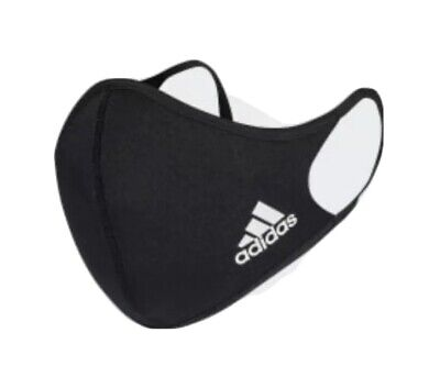 Adidas Face Mask Cover Protection Unisex 100% Authentic Adidas Adult Size Small