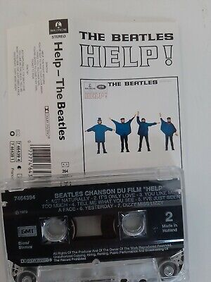The Beatles - Help - MC - Musikkassette - Tape - Cassetten