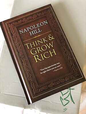 Think and Grow Rich, Hardcover by Hill, Napoleon, Brand New, Free shipping in...
