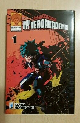 My Hero Academia N.1 Variant Ita Limited Edition