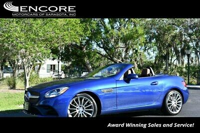 2017 Mercedes-Benz SL-Class SLC 300 Roadster W/Premium 1 and Sport Packages 2017 SLC Convertible 28,317 Miles With warranty-Trades,Financing & Shipping
