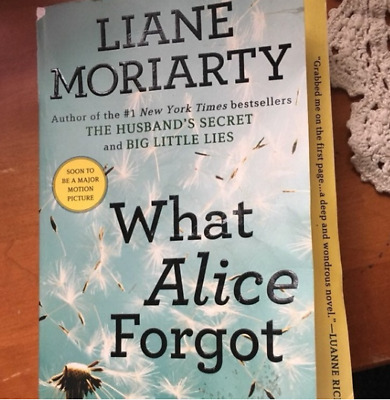What Alice Forgot by Liane Moriarty 🔥 FREE DELIVERY OFFER 🔥