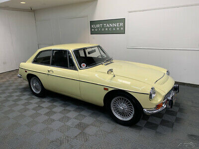 1969 Mg Mgc Gt 1969 Mgc Gt Sports Coupe. 2.9 Liters, 6-Cylinder. 4-Speed With Od 1969 Mgc Gt Sports Coupe. Well-Preserved Original Car Showing 31,932 Miles.