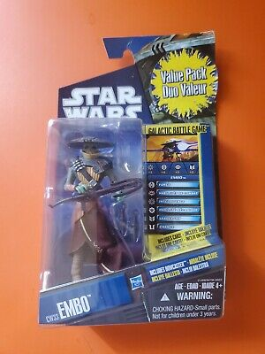 Star Wars The Clone Wars CW33 EMBO Bounty Hunter NEW 2010