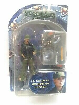 LT. Colonel Samantha Carter Stargate SG-1 Action Figure New Series Two