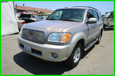 2002 Toyota Sequoia SR5 2002 Toyota Sequoia SR5 Automatic 8 Cylinder NO RESERVE